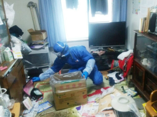 特殊清掃の様子2