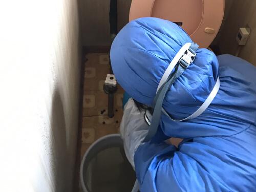 特殊清掃の様子7